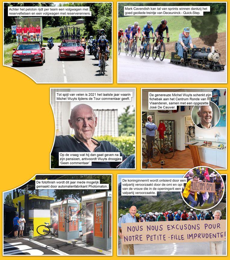 het gat van de wereld 29: Tour de France Beeld Humo