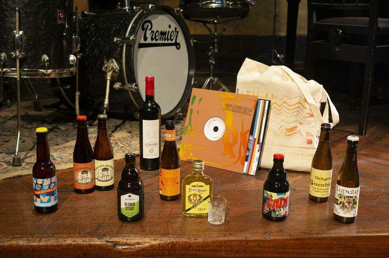 Met de 'La Si Do - Tour' brengt het Antwerpse jazzcafé De Muze een caféavondje naar uw living. Beeld RV