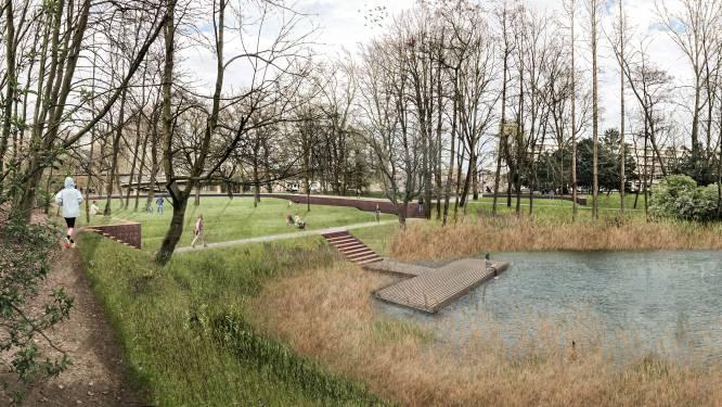 Openluchtfilms aan rand van vijver én leuke fietsverbindingen: heraanleg van Park Brialmont gaat nieuwe fase in
