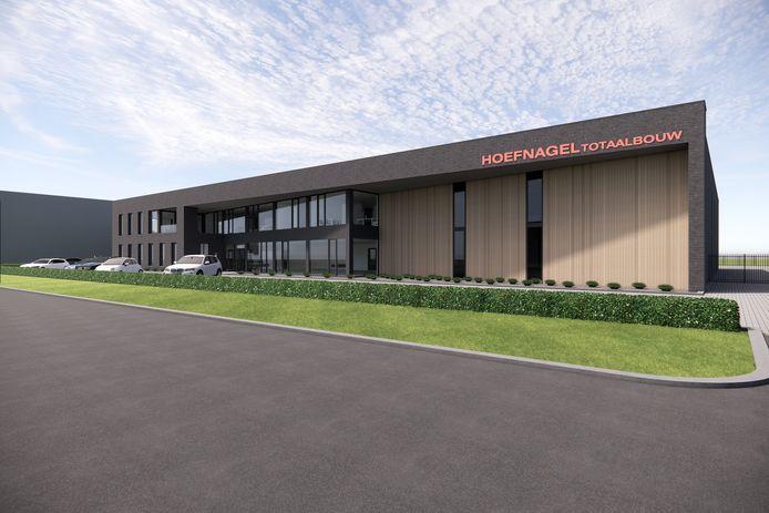Bouwbedrijf Hoefnagel uit Sprang-Capelle heeft in Kaatsheuvel grond gekocht voor de bouw van een nieuw bedrijfspand.