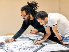 Schiedammers gaan met zichzelf én met kunst aan de slag