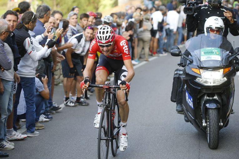 Tim Wellens viel aan en werd nog knap vierde Beeld PHOTO_NEWS