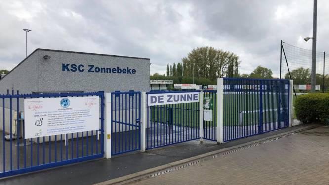 """Aanleg kunstgrasveld SC Zonnebeke ligt stil wegens geen archeologische nota: """"Als die nodig blijkt, betekent dat een drama voor de club"""""""