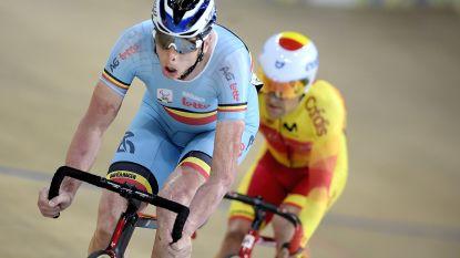 Drie medailles voor Belgische renners op kwartier tijd