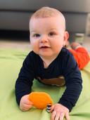 Francis (7 maanden) is het zoontje van Tilde Igodt