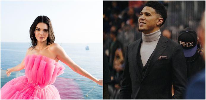 Kendall Jenner en Devin Booker.