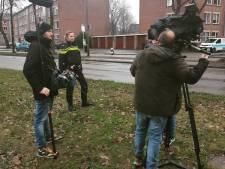 Medeverdachte vuurwerkbom Deventer op beeld: Opsporing Verzocht maakt opnames in straat