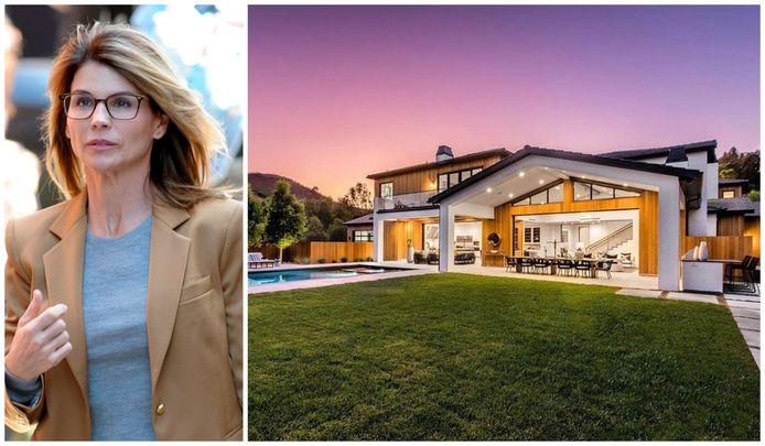De villa waar Lori Loughlin tot rust wil komen.