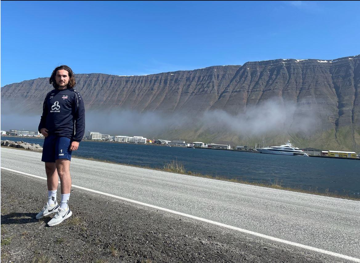 Steven van Dijk op IJsland