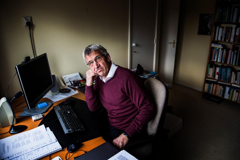 Prof. dr. Pieter Leroy: 'We mogen niet naïef zijn. De Green Deal is het beste plan dat er is, maar vooralsnog alleen een papieren plan.' Beeld Aurélie Geurts