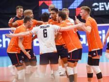 Volleyballers na zege op gastland Finland als groepswinnaar door op EK