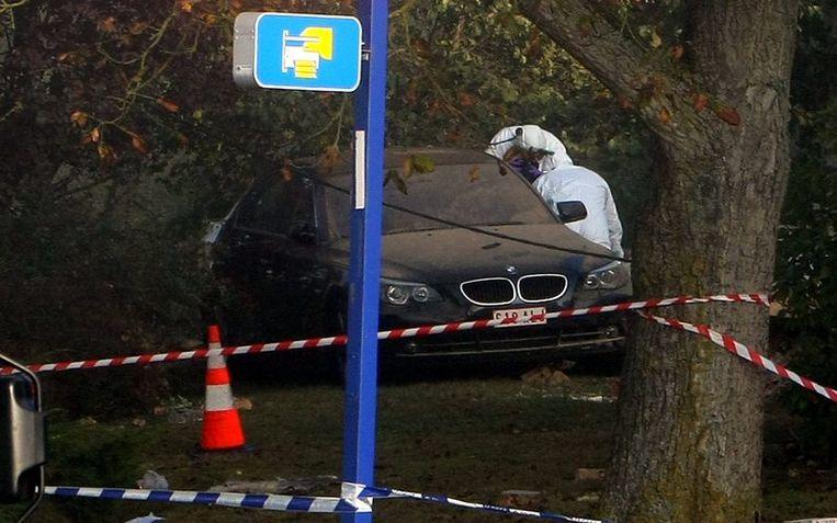 Op de plaats van het delict werd ook nog een BMW aangetroffen.