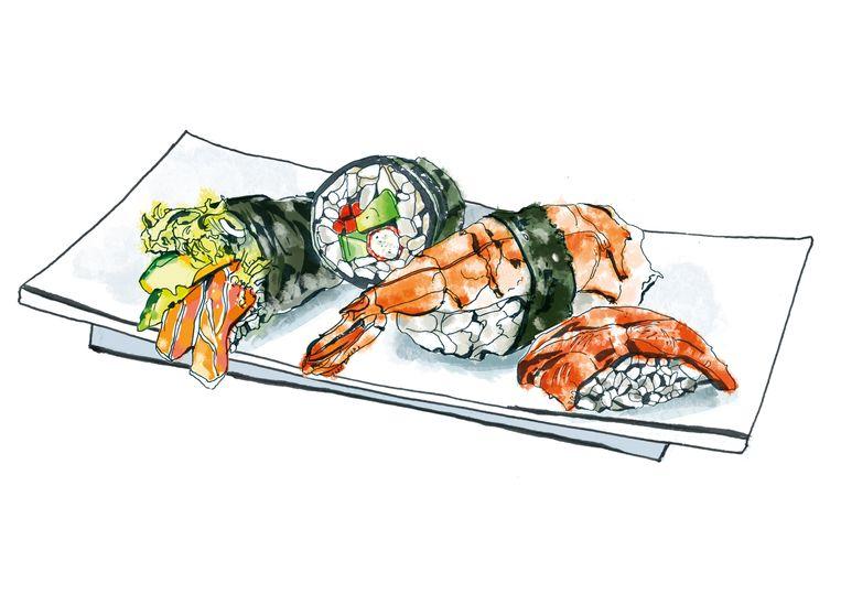 Too good to go app (sushi) Beeld Andrea Turvey