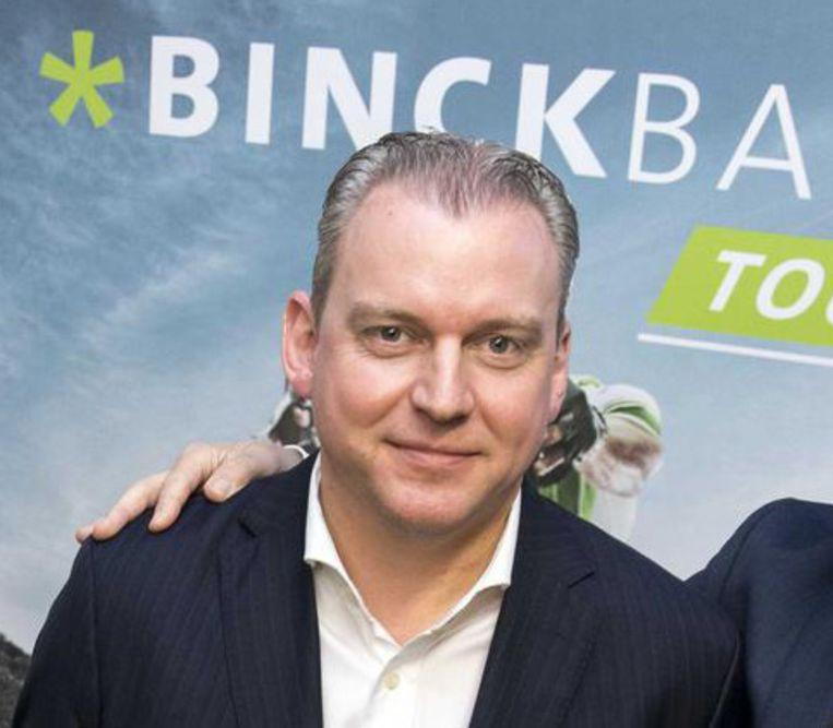 De Belg Vincent Germyns, CEO van Binckbank, heeft aan het personeel zijn excuses overgemaakt. Beeld Belga