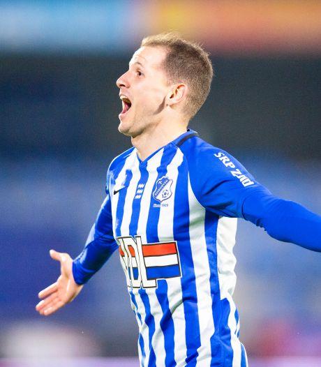 Joey Sleegers laat FC Eindhoven-fans bij terugkeer juichen met late treffer tegen FC Den Bosch