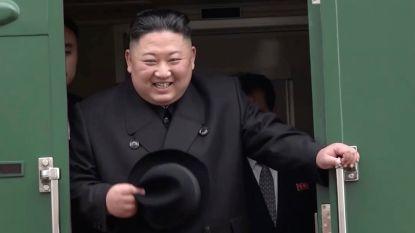 Kim Jong-un aangekomen in Vladivostok voor ontmoeting met Poetin