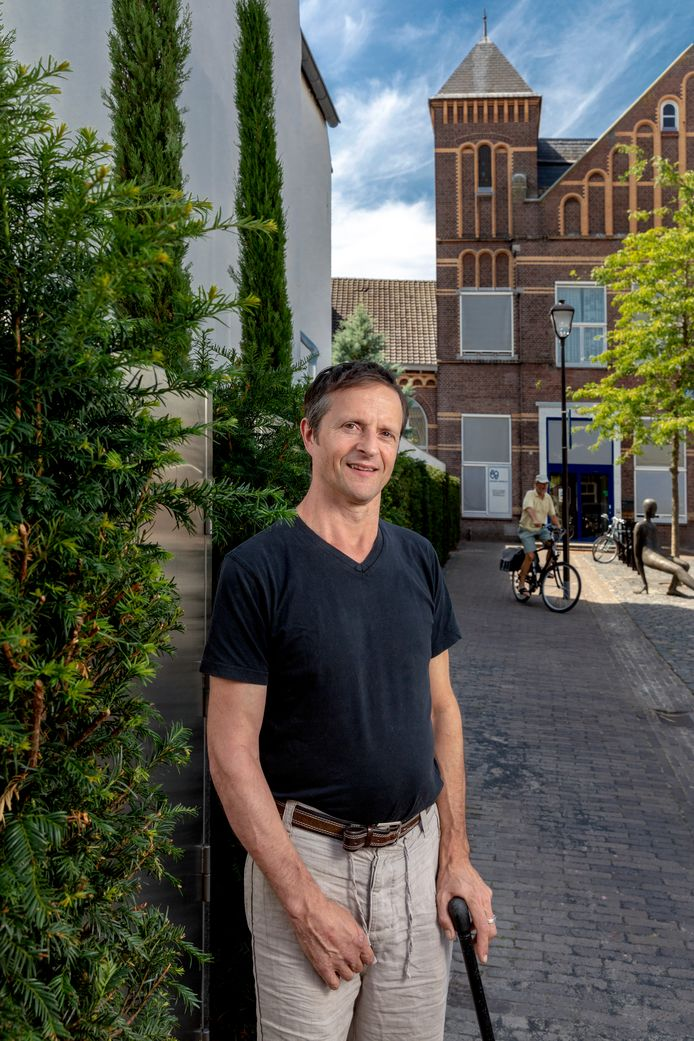 """Stadskunstenaar Romijn Conen: ,,Ik ben er voor iedereen."""""""