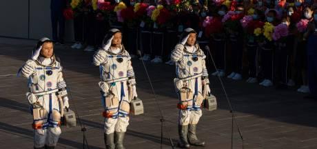 China lanceert voor bemanning naar eigen ruimtestation voor langste ruimtereis tot nu toe