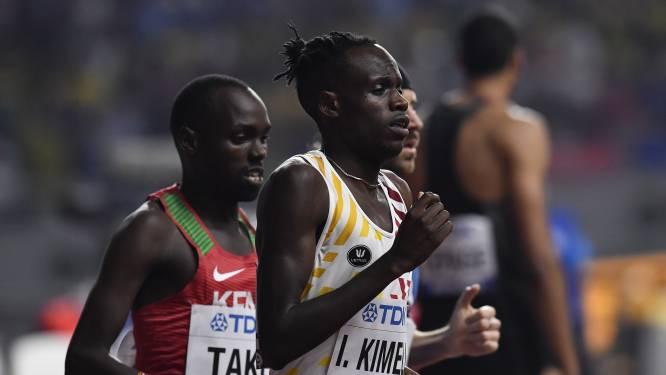 Kimeli wordt heropgevist voor halve finales van 1500m, Debjani niet
