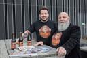 Geert Blenckers (links) en Rene Manders organisatie Bluesroute in Helmond