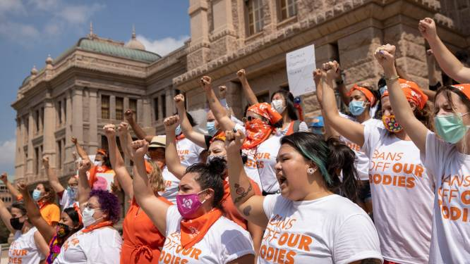 """Amerikaanse regering wil Texas aanklagen voor zeer strenge abortuswet: """"Nu kan elke burger premiejager zijn"""""""