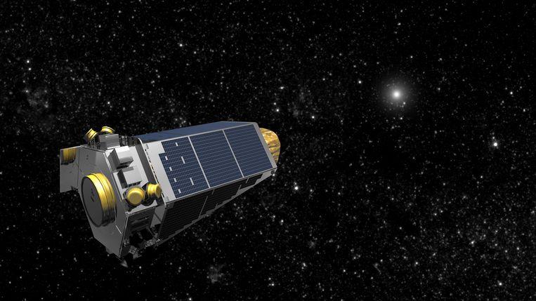 Grafische illustratie van het Kepler Space Observatory.