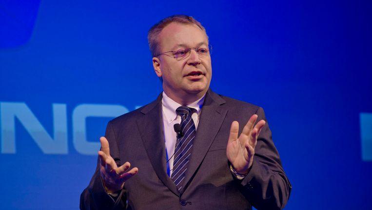 Voormalig Nokia-topman Stephen Elop. Beeld EPA