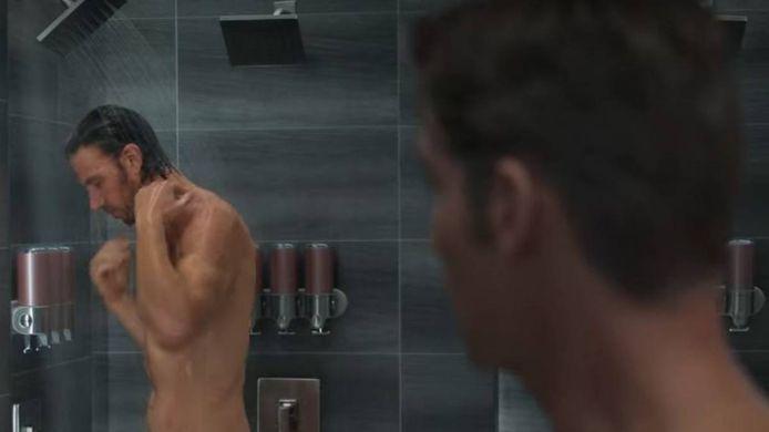 La scène de la douche.