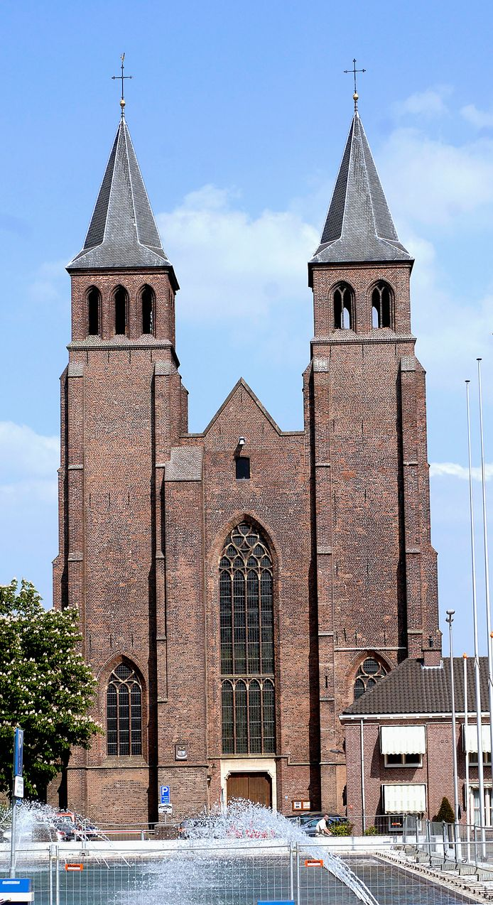 De Walburgiskerk in Arnhem.