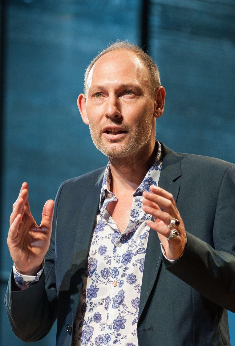 Directeur Jeffrey Meulman van het Nederlands Theater Festival. Beeld Anna van Kooij
