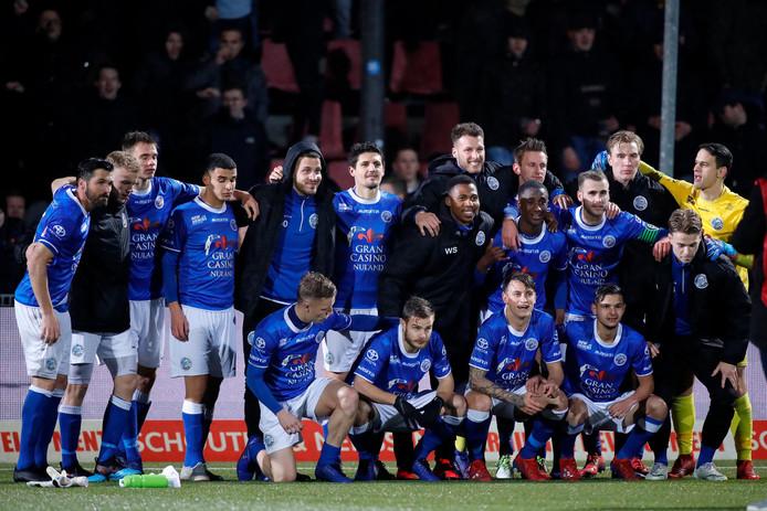 FC Den Bosch vierde vorige week tegen Helmond Sport de eerste winst na zes wedstrijden zonder zege.
