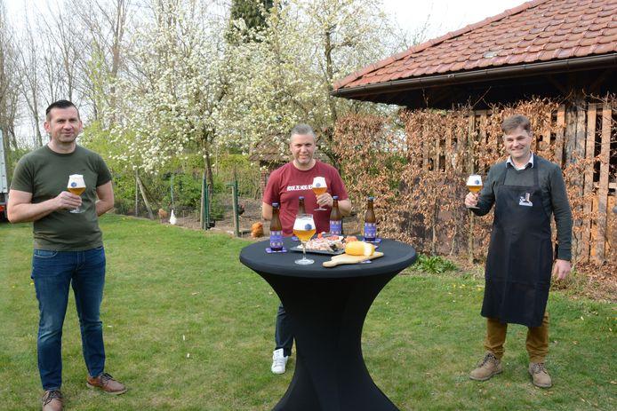 Wim De Maere, Joeri Van Damme en Wim Tindemans lanceren Den Beversen Tripel