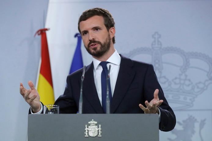Le Premier ministre socialiste Pedro Sanchez.