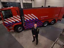 Eerste brandweerwagen van 240.000 euro met 15.600 liter water in Achterhoek