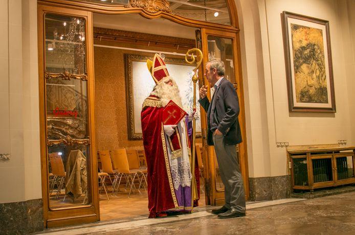 Sinterklaas in de Salons, dat gedurende een viertal weken het Huis van de Sint is.