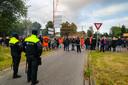 De politie houdt de Apeldoornse meute goed in de gaten.