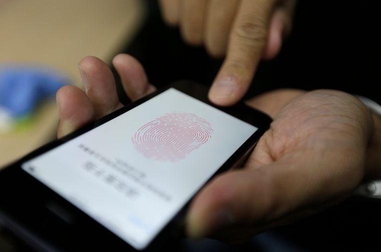 Touch ID van Apple Beeld REUTERS