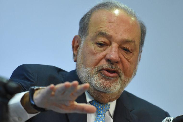 Carlos Slim Beeld Getty Images