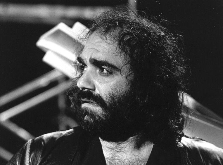 Demis Roussos (1946-2015). Beeld ANP
