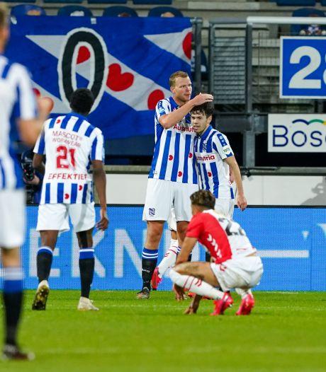 Heerenveen kent geen enkele moeite met rood aangelopen FC Emmen