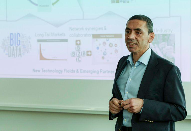 Ugur Sahin, CEO van BioNTech. Beeld BELGAIMAGE