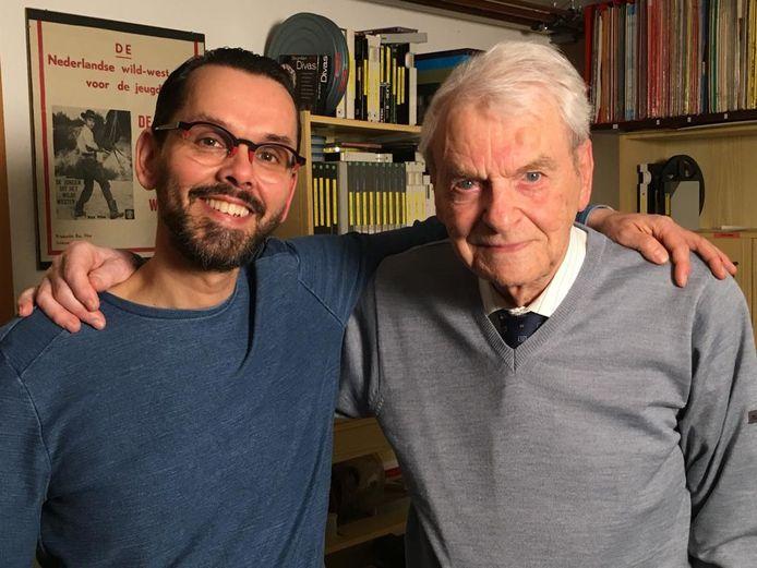 Olaf Koelewijn (links) en Henk van der Linden.