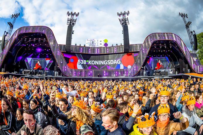 April 2019: de Snollebollekes op 538 Koningsdag.
