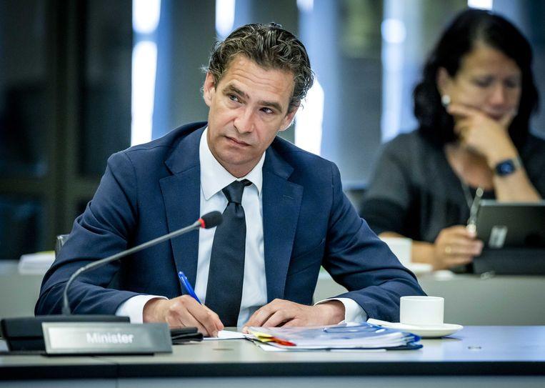 Bas van 't Wout is sinds januari demissionair minister van Economische Zaken en Klimaat. Beeld ANP