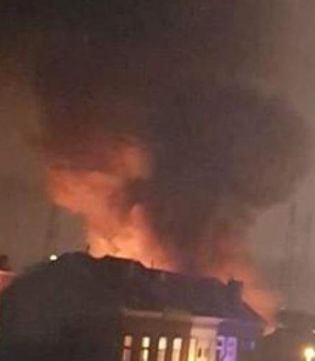 Incendie à Bressoux: l'entrepôt contenait de l'amiante