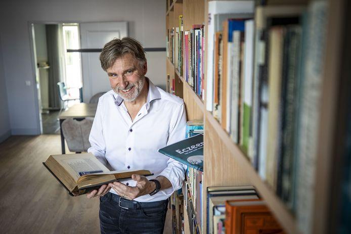 """Gerrit Dannenberg:  """"Door de Hellendoornse Johanna van Buren ontdekte ik dat je ook goeie gedichten in het plat kunt schrijven."""""""