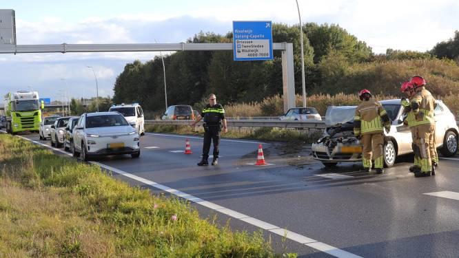 Gewonde bij botsing op N261 bij Waalwijk