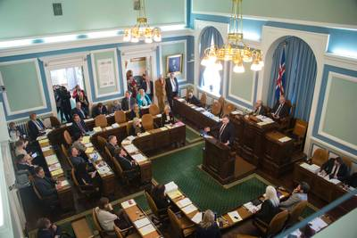 Vrouwen dan toch niet in meerderheid in IJslands parlement