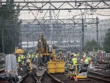 Week lang werk op spoor tussen Eindhoven, Den Bosch en Tilburg