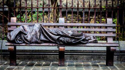 Daklozen kunnen nu ook in het weekend overdag opwarmen in ontmoetingshuis De Brug